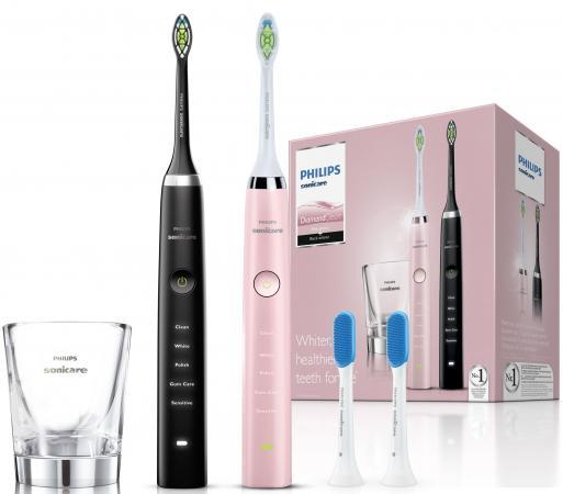 Зубная щётка Philips HX9368/35 Sonicare 3 Series gum health (2шт) розовый/черный new 1pc replacement electric toothbrush heads for philips sonicare e series hx7001 hot selling quality
