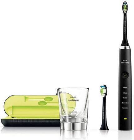 Зубная щётка Philips HX9352/04 Sonicare DiamondClean черный 50pcs new uv germicidal sanitizer replacement bulb for philips sonicare hx6150 hx6160 hx7990 hx6972 hx6011 hx6711 hx6932 hx6921