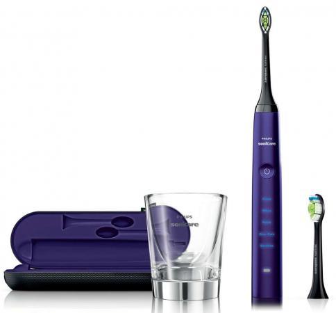 Зубная щётка Philips HX9372/04 Sonicare DiamondClean сиреневый glass cup for charger hx9100 sonicare diamondclean toothbrush hx9340 hx9342 hx9313 hx9333 hx9362 hx9382 hx9302 hx9350 6530 6930