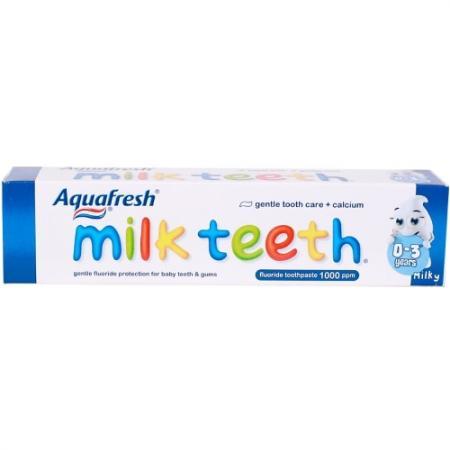 AQUAFRESH Зубная паста детская Мой первый зубик 0-2лет 50мл