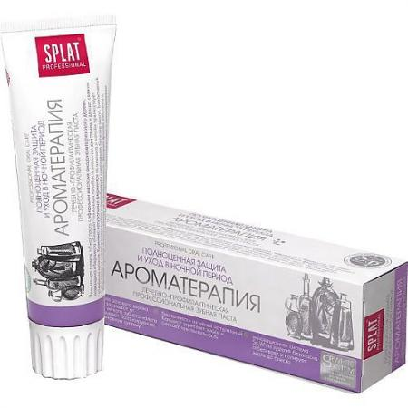 SPLAT Зубная паста Professional Ароматерапия 100мл ароматерапия 2014