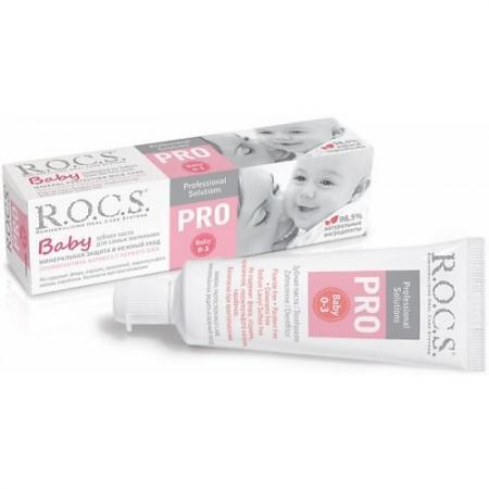 Картинка для РОКС Зубная паста PRO.Baby Минеральная защита и нежный уход 45 гр