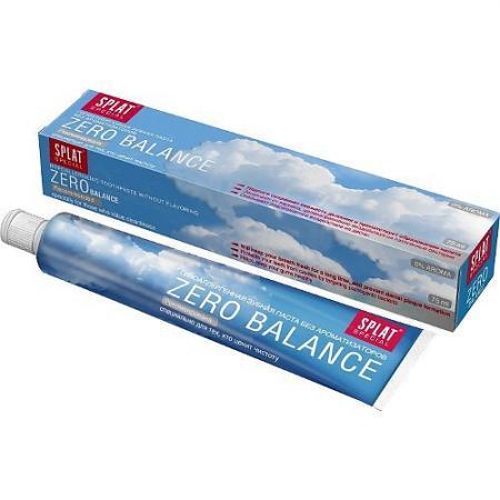 SPLAT Зубная паста Special Зеро баланс 75мл splat
