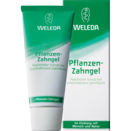 WELEDA Растительная зубная паста-гель на травах для всей семьи 75 мл зубная паста weleda календула 75 мл 9801