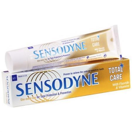 SENSODYNE зубная паста Комплексная защита 75 мл sensodyne зубная нить мягкая 30 м