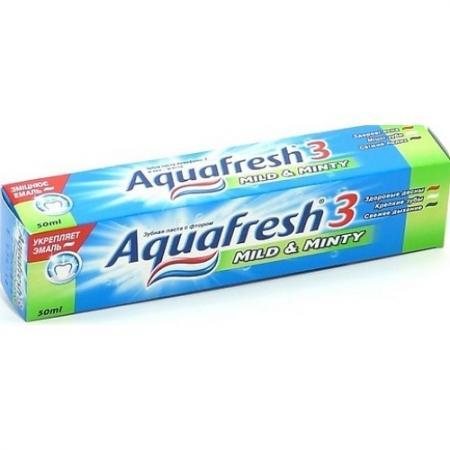 AQUAFRESH Зубная паста 3 Мягко-мятная 100 мл gm1117 33 1117 3 3 sot 223