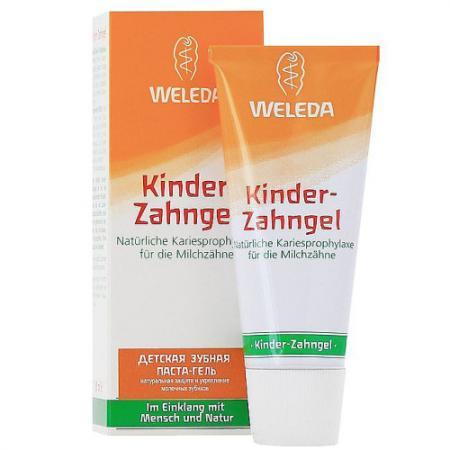 Зубная паста-гель WELEDA 8186 50 мл зубная паста weleda календула 75 мл 9801