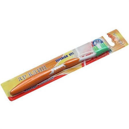 Др.Клин Зубная щётка МАССАЖЕР Медиум зубная щётка зубная щетка массажер с ограничителем roxy kids желтая