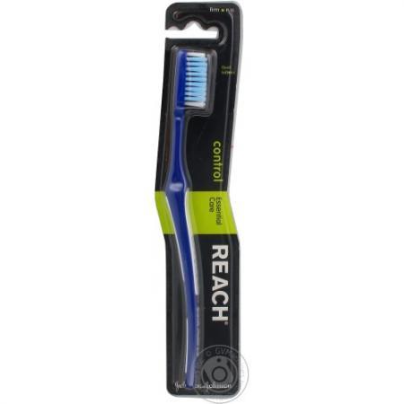 REACH Control зубная щетка жесткая reach зубная щетка control жесткая цвет бирюзовый
