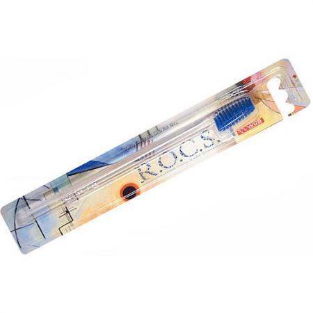 РОКС Зубная щетка КЛАССИЧЕСКАЯ мягкая рокс щетка зубная модельная мягкая