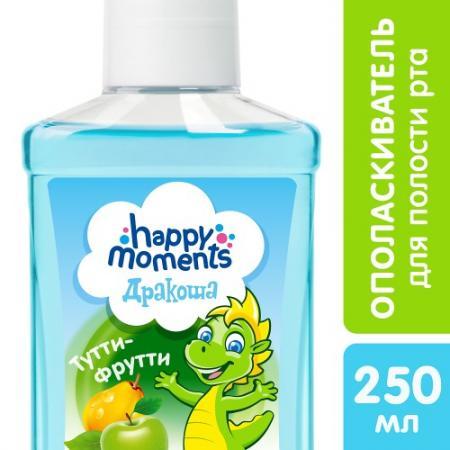 ДРАКОША Детский ополаскиватель для полости рта Тутти-фрутти 250мл гир д маникюр тутти фрутти