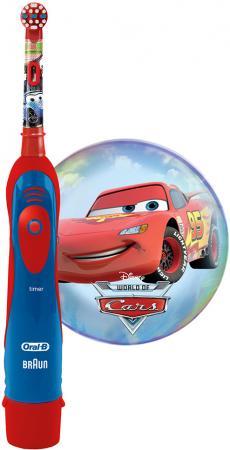 Зубная щётка Braun Oral-B Stages Power Cars красный/синий гигиена полости рта oral b зубная щётка pro expert stages 2