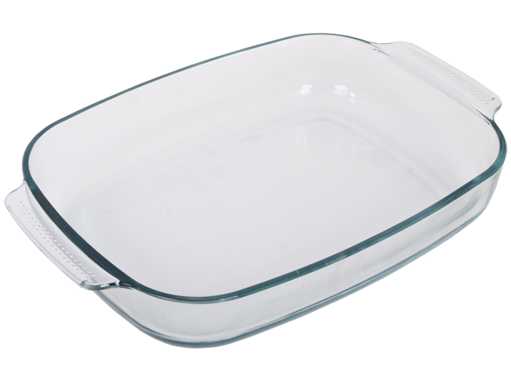 Форма для запекания UNIT UCW-5115/38 , стекло, серия Weiler, для СВЧ и Духовки, от -30 до +250С, размер 38см.