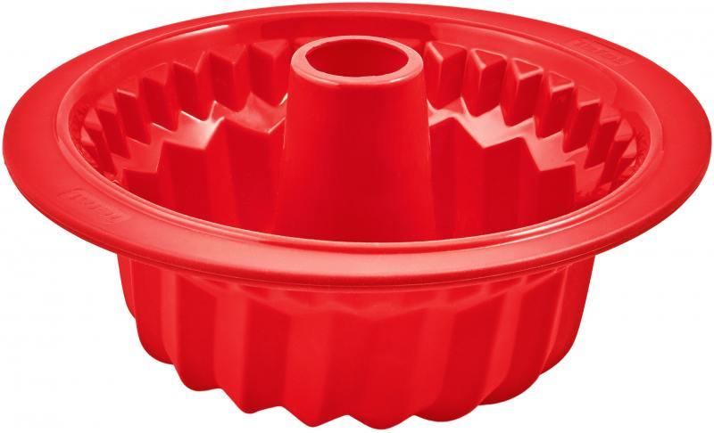 Форма для выпечки Tefal J4096814 кругл. d=27см силикон красный (2100094825) таз d 27см
