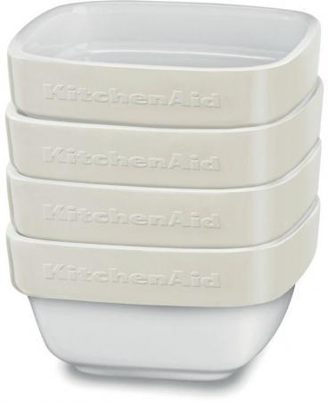 Форма для запекания KitchenAid KBLR04RMAC керамика бежевый kitchenaid форма для запекания 26х26 см черная