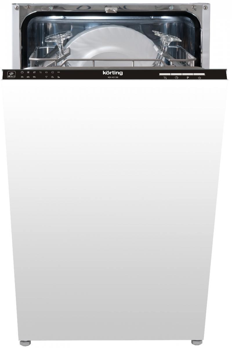 Встраиваемая посудомоечная машина Korting KDI 45130 встраиваемая посудомоечная машина korting kdi 60130