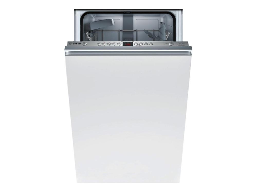 Встраиваемая посудомоечная машина BOSCH SPV45DX10R встраиваемая посудомоечная машина 45 см bosch supersilence spv63m50ru