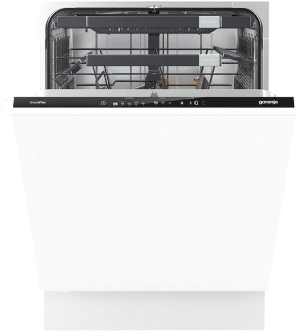 Встраиваемая посудомоечная машина GORENJE GV66260 посудомоечная машина gorenje gv66260 белый
