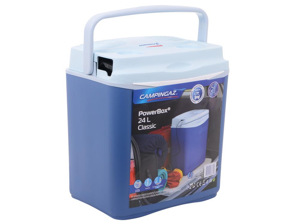 Холодильник автомобильный CG Powerbox 24 Classic (объём 24л, питание 12V, без нагрева, размеры 27.2х42.5х38.4см, вес 3.5кг) автомобильный холодильник waeco tropicool tcx 35 33л
