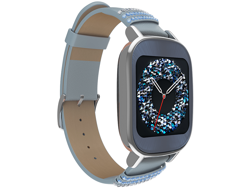 """Смарт-часы Asus ZenWatch 2 (WI502Q) Qualcomm APQ8026 (1.2)/512M/4G/1.45"""" (280x280) Touch/BT4.1/WiFi/1.1Wh/IP67/Android Wear (Silver,"""