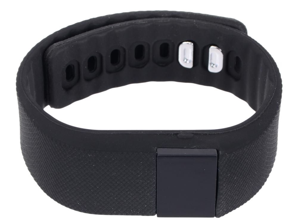 Фитнес-браслет Lime 102 black шагомер/подсчет калорий/часы/будильник/черный ремешок