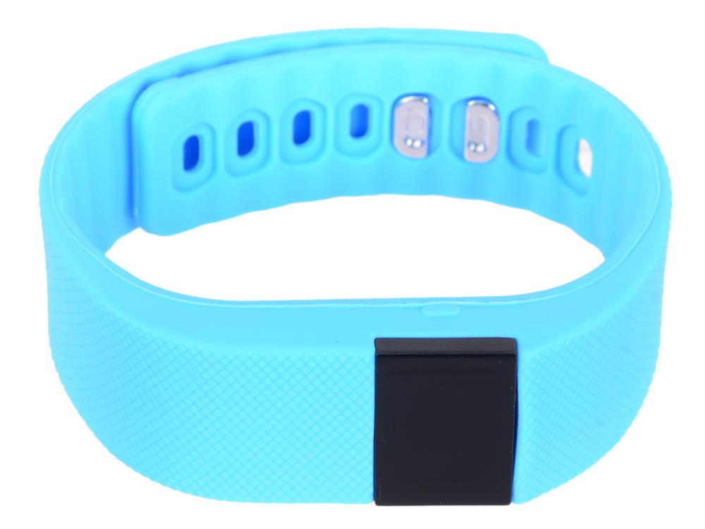 Фитнес-браслет Lime 102 cyan шагомер/подсчет калорий/часы/будильник/голубой ремешок
