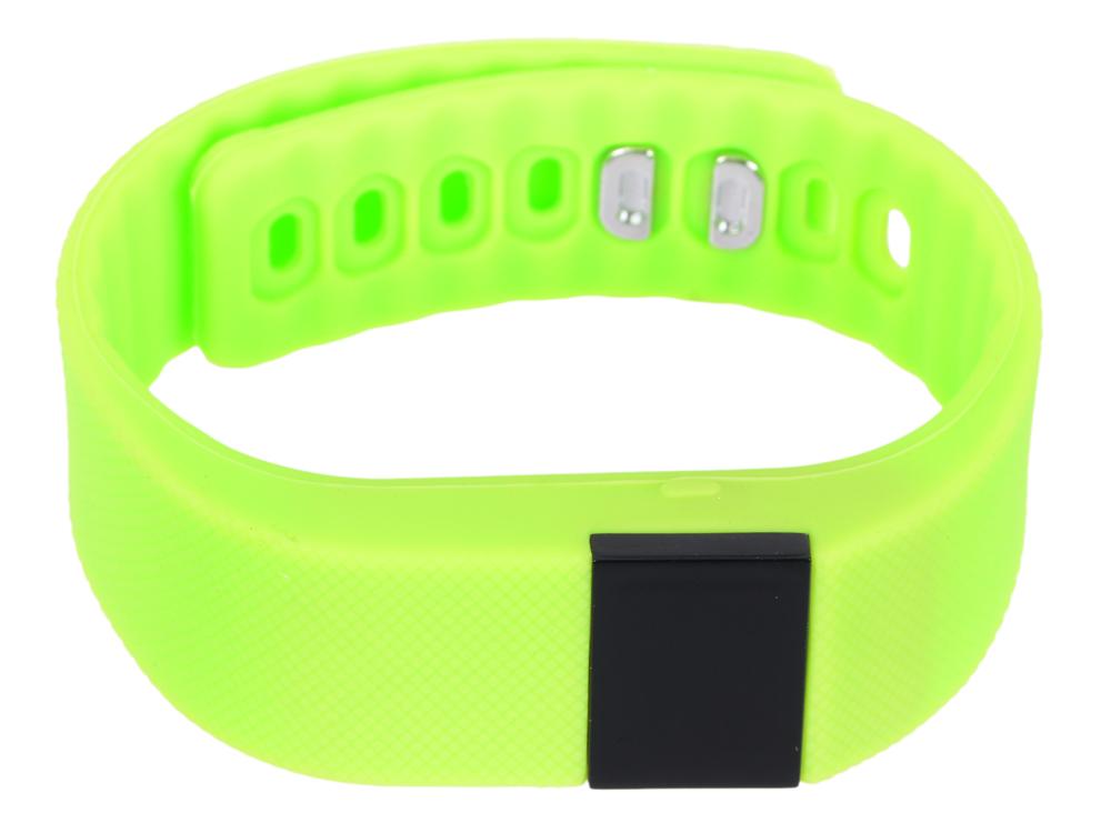 Фитнес-браслет Lime 102 green шагомер/подсчет калорий/часы/будильник/зеленый ремешок