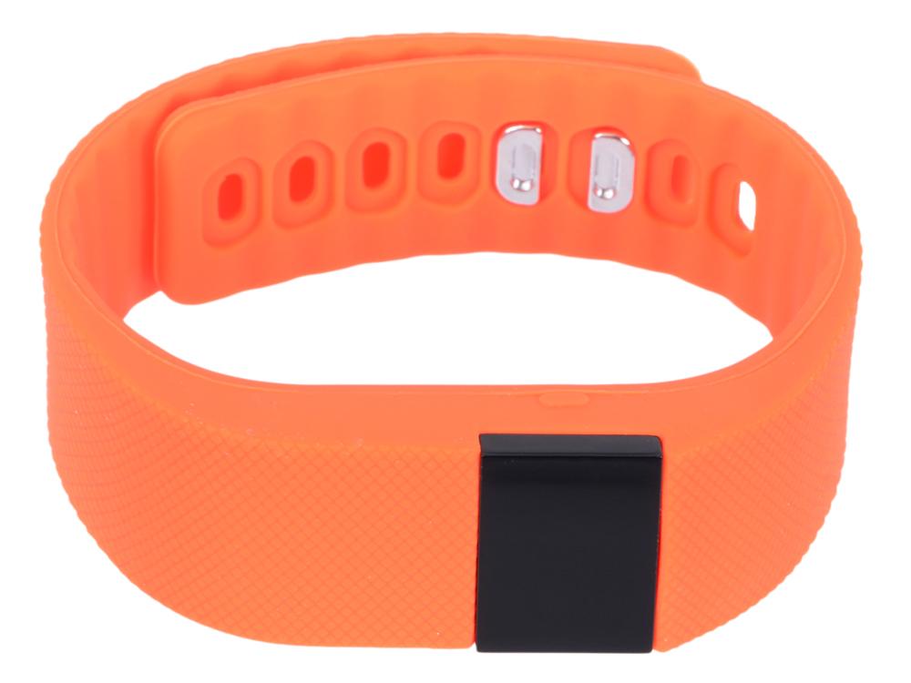 Фитнес-браслет Lime 102 orange шагомер/подсчет калорий/часы/будильник/оранжевый ремешок