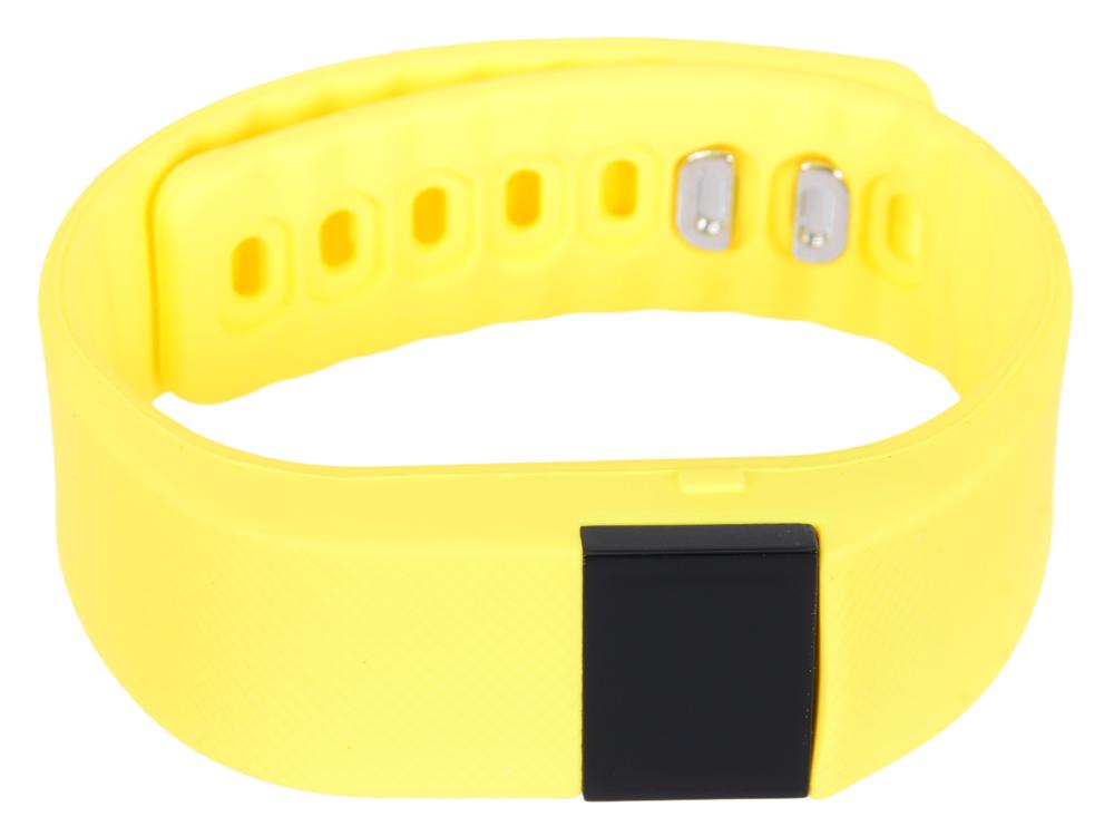 Фитнес-браслет Lime 102 yellow шагомер/подсчет калорий/часы/будильник/желтый ремешок