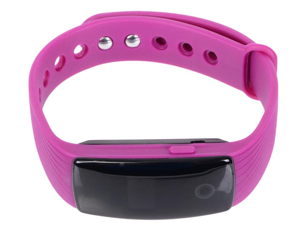 Фитнес-браслет Lime 107HR purple пульсомер/шагомер/подсчет калорий/часы/будильник/пурпурный ремешок