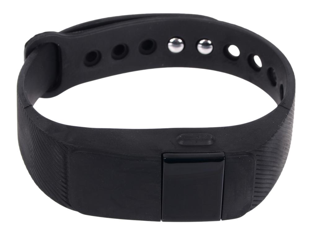 Фитнес-браслет Lime 111HR black пульсомер/шагомер/подсчет калорий/часы/будильник/черный ремешок
