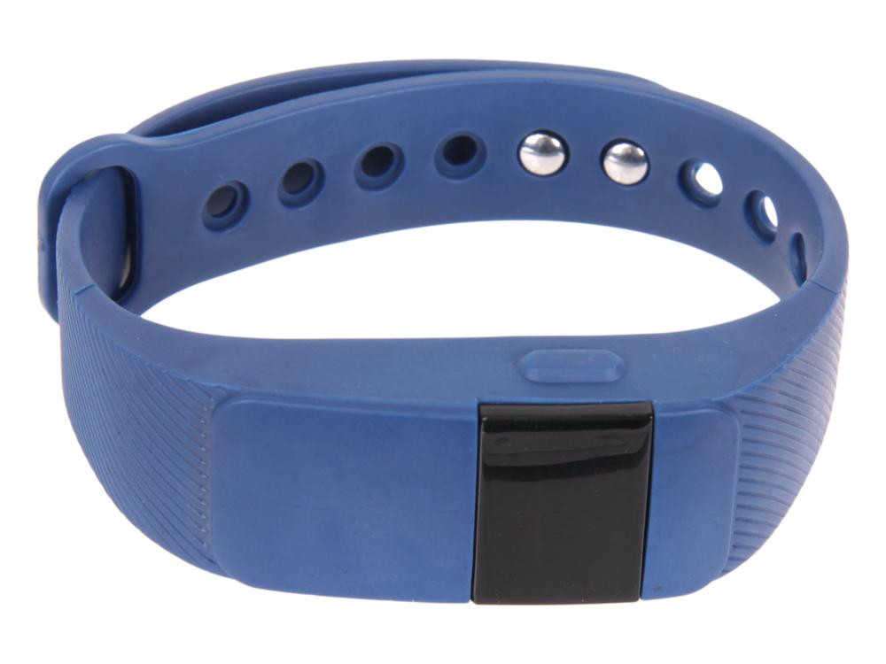 Фитнес-браслет Lime 111HR blue пульсомер/шагомер/подсчет калорий/часы/будильник/синий ремешок