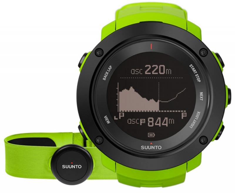 Смарт-часы Suunto Ambit3 Vertical HR зеленый SS021970000