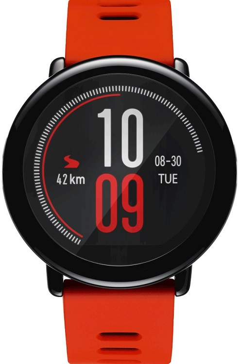 Умные часы Xiaomi Amazfit Sports Watch Red lucky family digital sports watch red led time and date display