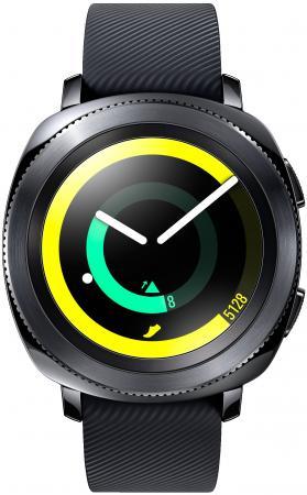Смарт-часы Samsung Galaxy Gear Gear Sport 1.5 Super AMOLED черный SM-R600NZKASER смарт часы samsung galaxy gear s3 classic sm r770 1 3 super amoled серебристый sm r770nzsaser
