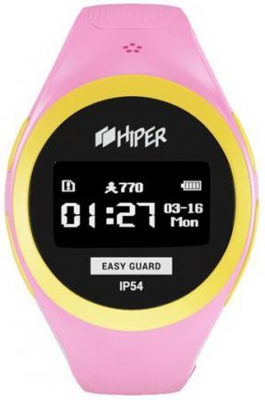 Смарт-часы Hiper Easyguard розовый EG-01PNK hiper vrp
