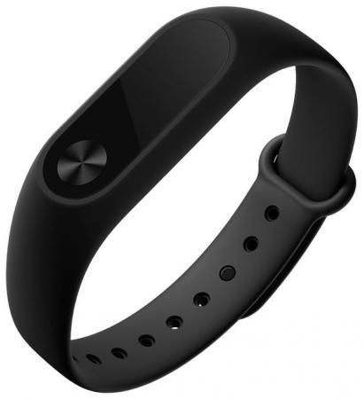 Фитнес-браслет Xiaomi Mi Band 2, чёрный [официальная глобальная версия] оригинальный xiaomi mi band 2 oled вызов сердечного ритма напомнить ip67 водонепроницаемый смарт браслет для android