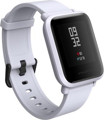 Смарт-часы Xiaomi Amazfit Bip White Cloud (UYG4024RT) умные часы xiaomi huami amazfit bip gray white cloud