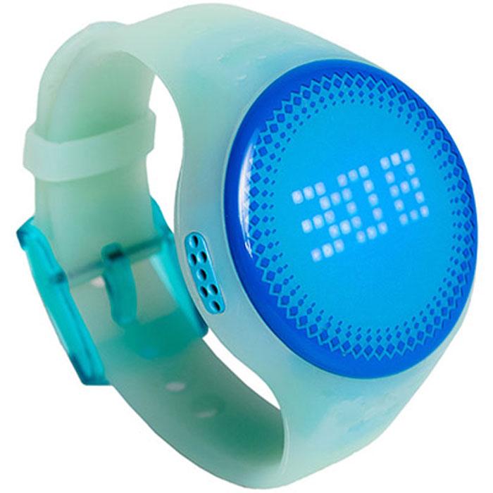 Детские часы-телефон с трекером LEXAND Kids Radar LED (цвет голубой), LED цифербрлат мобильный телефон lexand lph1 mini белый 1 44