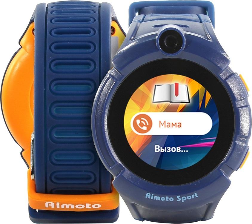 Смарт-часы Knopka Aimoto Sport синий 9900104