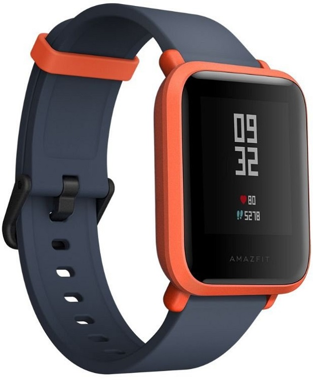 Смарт-часы Xiaomi Amazfit Bip Red умные часы xiaomi amazfit watch band black pace smartwatch black