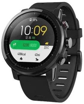 Умные часы Xiaomi Amazfit Stratos Black (6970100371253) умные часы kingwear kw99 pro