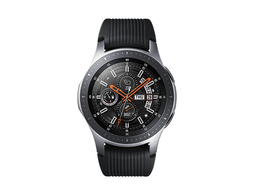 Смарт-часы Samsung Galaxy Watch SM-R800, Серебристая сталь (SM-R800NZSASER) умные часы samsung galaxy watch 46 mm silver sm r800n