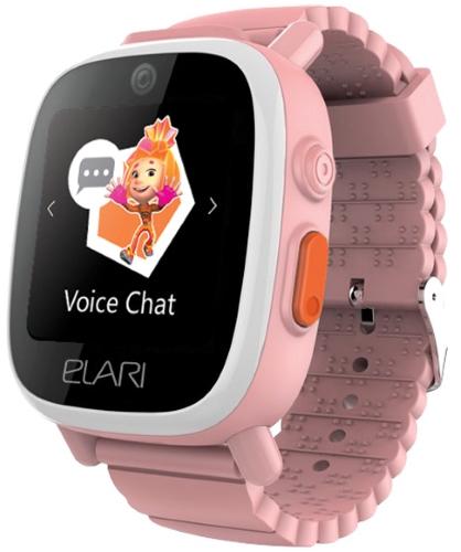 Смарт-часы Elari FixiTime 3 розовые кардридер elari smartcable