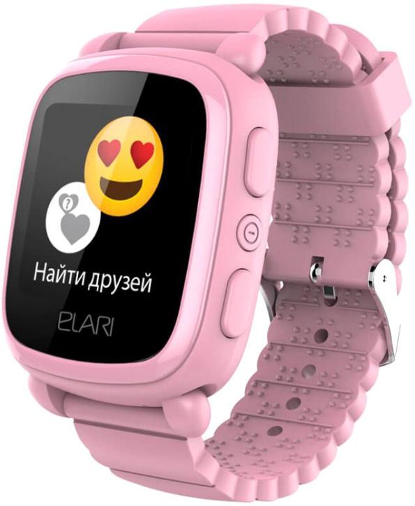 Смарт-часы Elari KidPhone 2 розовые кардридер elari smartcable