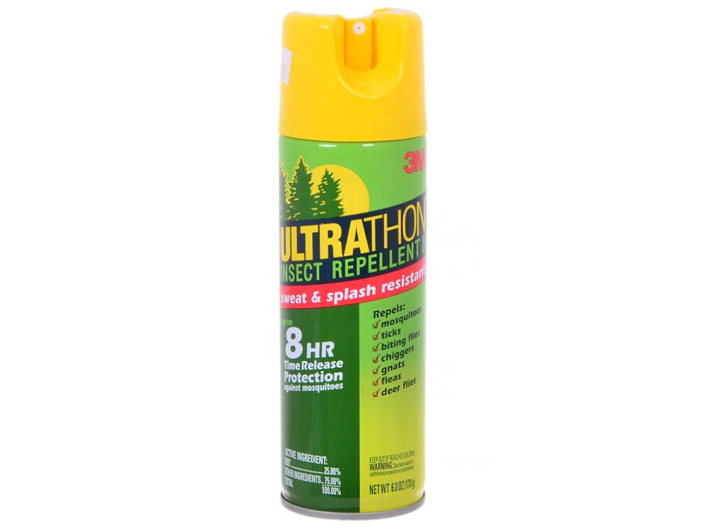 Аэрозоль для защиты от клещей, мошки и комаров UltraThon SRA-12