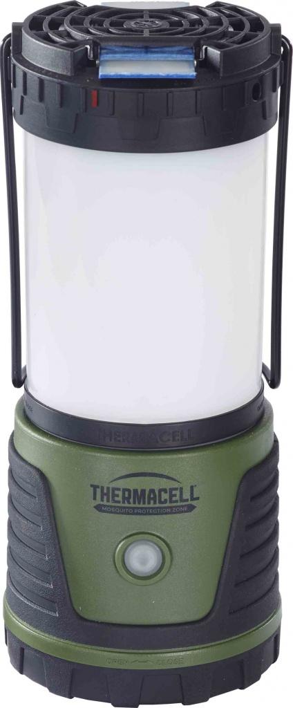 Лампа противомоскитная ThermaCell Trailblazer Camp Lantern (яркость 300 lm,4 режима освещения, пьезоподжиг; в комплекте 1*12-часовой газовый картридж) novotech 357332 nt16 097 бежевый светильник ночник в розетку с выкл ip20 3 ledx0 3w 220v night light