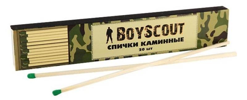 Спички Boyscout 61030 каминные 205мм 20шт
