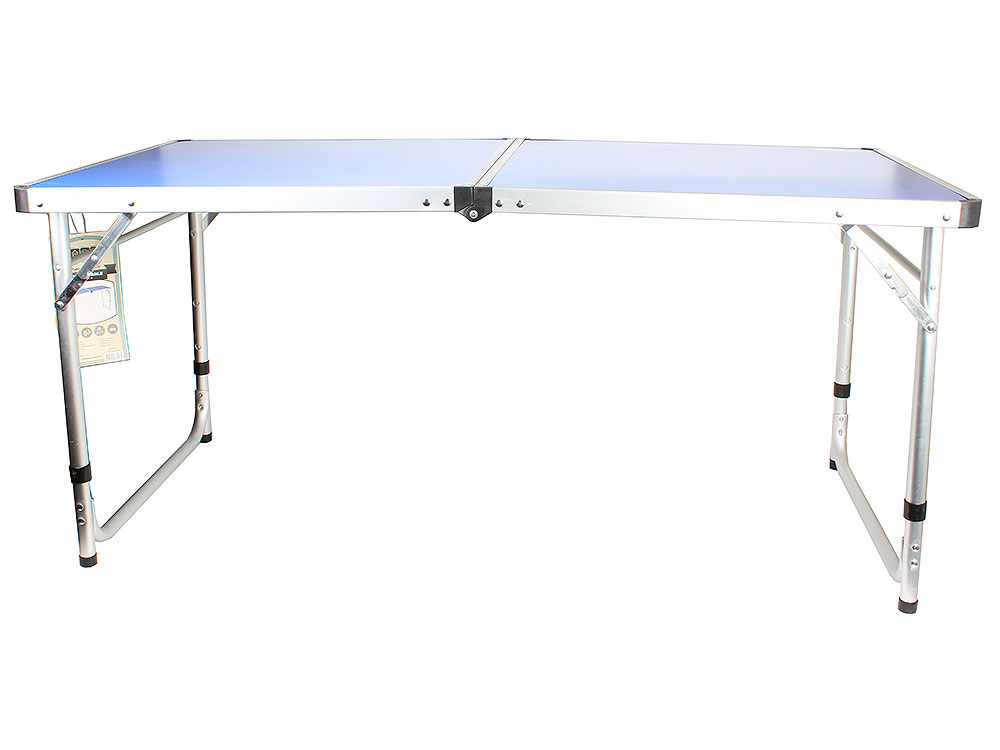 Стол походный Camping World Funny Table Blue camp table portable foldable table home furniture camping beach picnic aluminium alloy