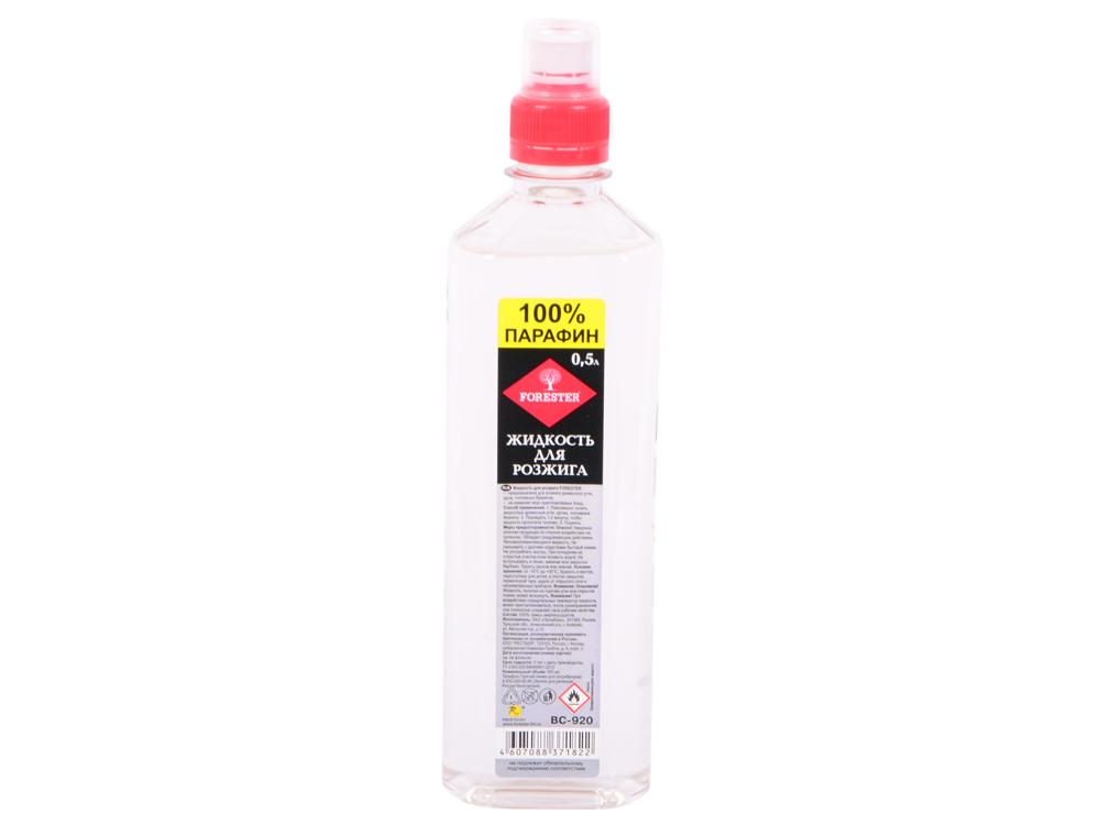 FORESTER Жидкость для розжига 0.5л жидкость для розжига 0 5л парафин